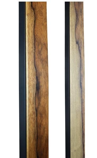 BLACK LIMBA & STEEL HANDMADE DOOR HANDLES