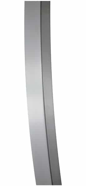 BOWED BRUSHED STAINLESS OFFICE DOOR PULLS