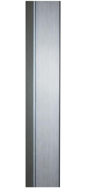 BRUSHED STAINLESS STEEL ENTRY DOOR HANDLES