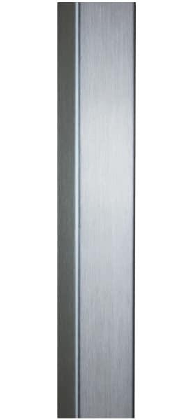 BRUSHED STAINLESS STEEL ENTRY DOOR HANDLES