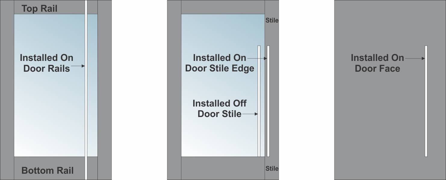 DOOR PULL DRAWING