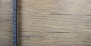 modern wooden entrance door made of real washed teak wood with square serrated dark door hardware
