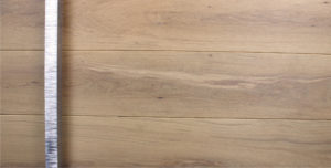 WHITE OAK WITH SQUARE POLISHED SERRATED PULL