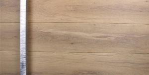 white oak hardwood front door with polished square custom door pulls