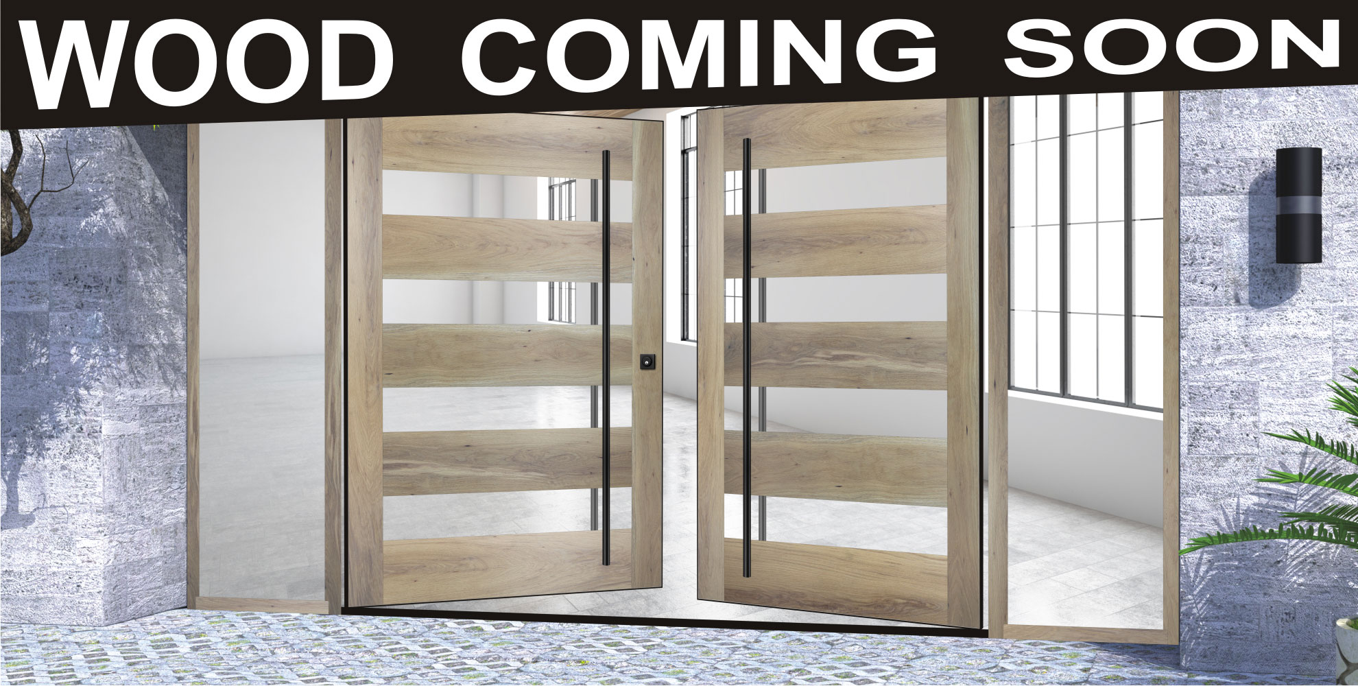 Modern Wood Front Doors Wood Glass Front Doors