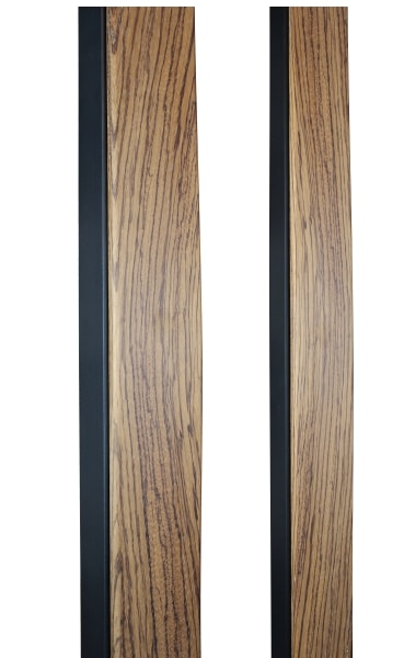 ZEBRAWOOD CUSTOM DOOR PULLS WITH METAL FRAME