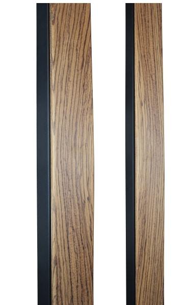 ZEBRAWOOD CUSTOM DOOR PULLS WITH METAL FRAME