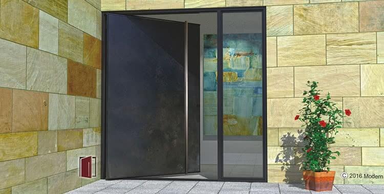 . Modern Steel Doors   Custom Pivot Doors  Glass Doors  Metal Doors